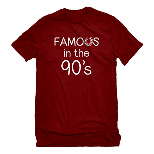 Mens Famous in The 90s XX-Large Red T-Shirt