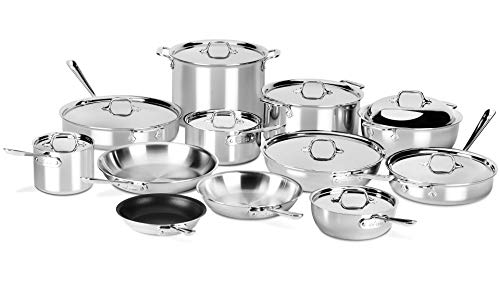All-Clad 21-piece d3 Stainless Cookware Set