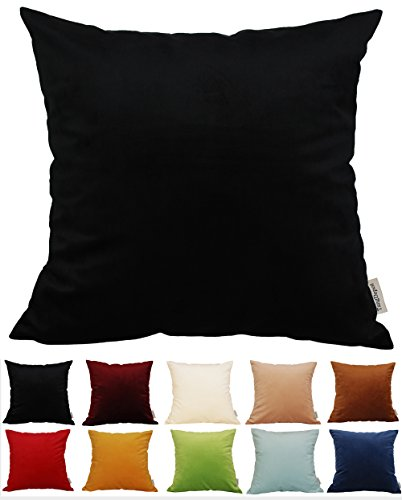 Buy black throw pillows 24x24