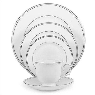 (Lenox Dinnerware 1002 Series Federal Platinum Dinnerware Collection-Federal Platinum Salad)