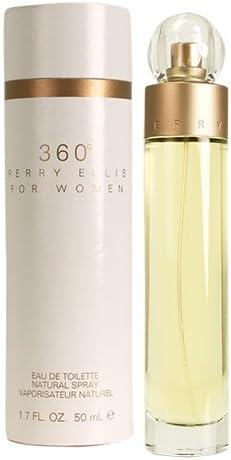 Perry Ellis 360 By Perry Ellis For Women. Eau De Toilette Spray 1.7 Ounces by Perry Ellis