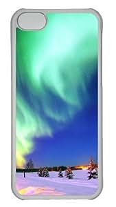 Customized Case landscapes nature 49 PC Transparent for Apple iPhone 5C