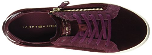 Hilfiger Decadent Sneakers Chocolate Tommy J1285upiter Femme 2z Basses Rouge 0xw1w7dZ