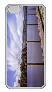 Customized iphone 5C PC Transparent Case - Derwent Water Personalized Cover