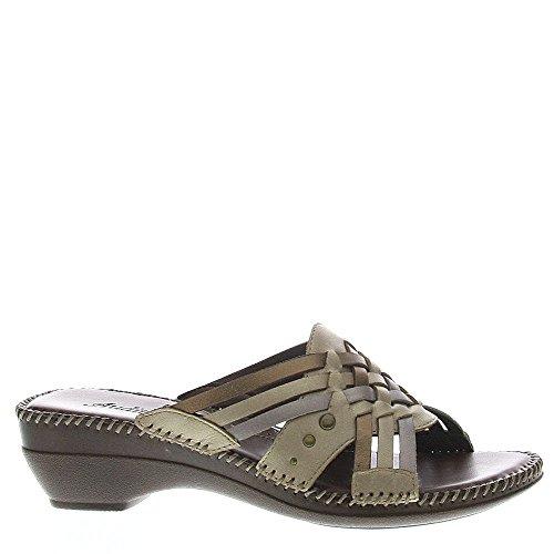 Auditions Tango Women's Sandal 6.5 B(M) US Metallic
