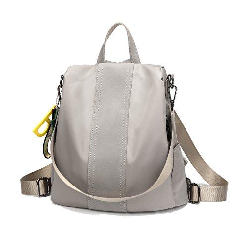 253cf738e95b EGOKEE Women Backpack Purse Oxford Waterproof Anti-theft Rucksack Fashion Simple  School Shoulder Bag(
