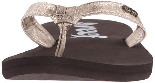 REEF Cape, Sandalias Flip-Flop para Mujer Marrón (Champagne)
