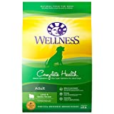 Wellness Complete Health Natural Dry Dog Food, Lamb & Barley, 30-Pound Bag