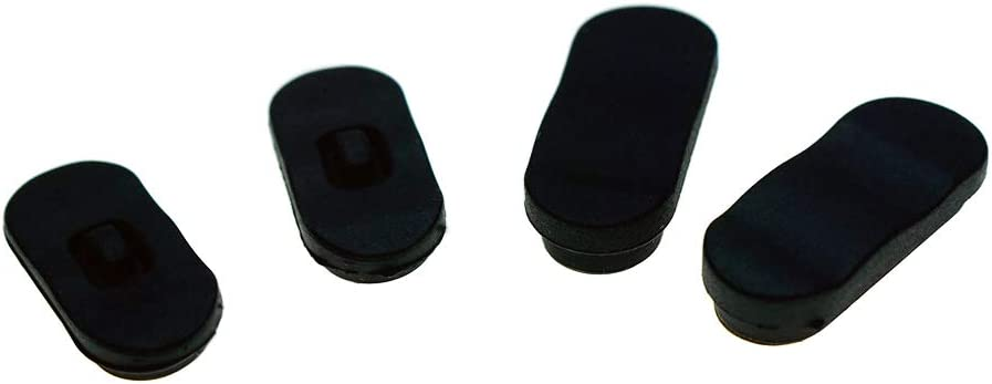 Color: with tracking number Tool Parts Rubber foot pads for Lenovo ThinkPad X220 X230 X220I X230I laptop pad Rubber Bottom Foot Feet One Set