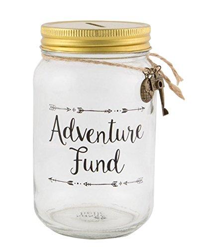Fund Jar - Sass & Bell Adventure Fund Jar Money Box (Ari022)