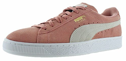 PUMA Women's Suede Classic Wn, Cameo Brown White, 8.5 M US