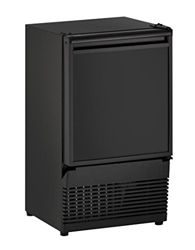 "U-Line UBI95B00A Undercounter Crescent Ice Maker, 14"", Black"