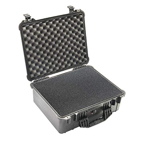 Pelican 1550 Camera Case With Foam (Black)