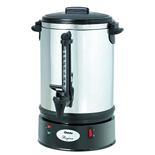 Machine à café à filtre rond 90 tasses en acier inoxydable - Bartscher A190196