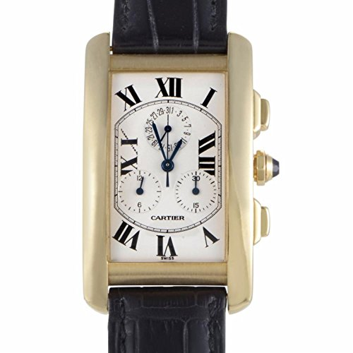 Cartier Tank Americaine quartz mens Watch W2605856 (Certified Pre-owned)