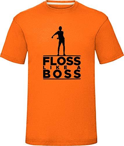 Chest 38 Floss Like a Boss T-Shirt Boys Girls Kids Adults Tee Top Sky Blue Small