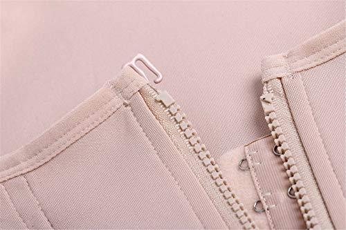 46ddd8a5ef Eleady Women s Underbust Corset Waist Trainer Cincher Steel Boned Body  Shaper Vest with Adjustable Straps (