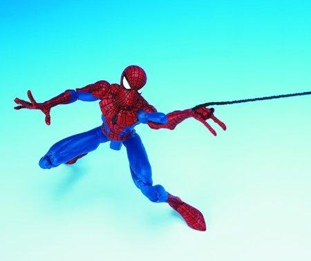 Web Biz Toy - Spider-Man Classics Web Climbing Spider-Man 6 Figure with Retractable Web Line by Toy Biz