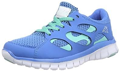 Kappa FOX NC Footwear unisex - zapatilla deportiva de material sintético Unisex adulto, color azul, talla 36