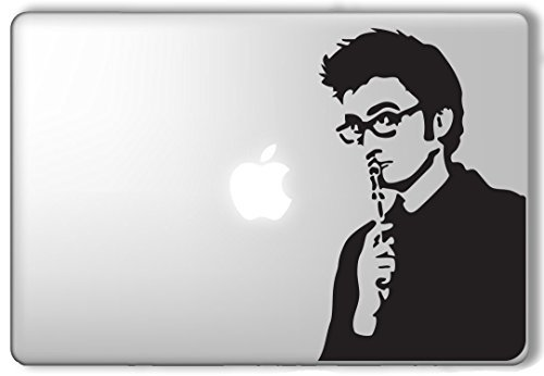 10Th Doctor David Tennant Doctor Who Dr  Who   Apple Macbook Laptop Vinyl Sticker Decal