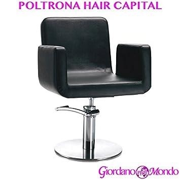 Fauteuil De Salon Coiffeur Et Barbier Chaise Hair Capital Professionnelle