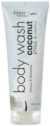 EDEN BodyWorks Coconut Shea Body Wash , 8oz