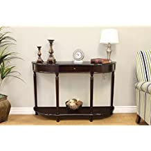 Frenchi Home Furnishing Console Sofa Table with Drawer, Expresso