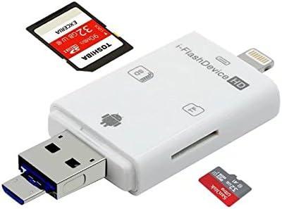 Amazon.com: Paddsun - Lector de tarjetas SD, adaptador de ...