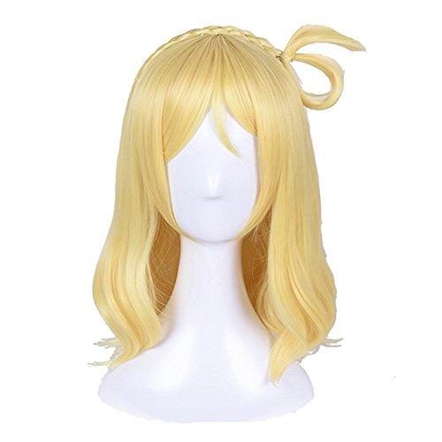 SUNCOS LoveLive Sunshine Aqours Full Hair Female Woman Party Cosplay Wig Ohara Mari