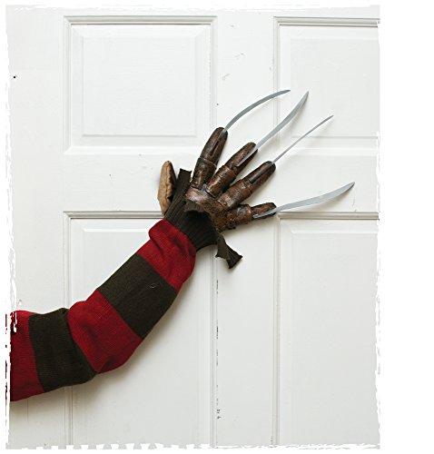 Morbid Enterprises Freddy Doorknocker, Silver/Brown/Tan/Red/Green, One Size]()