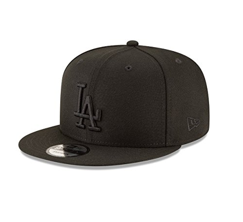 New Era Los Angeles Dodgers Black On Black Snapback Cap 9fifty Limited Edition from New Era