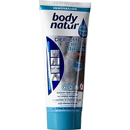 Body Natur - Gel crema depilatoria ducha masculina
