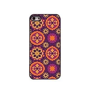 LCJ Lovely Flower Design Aluminum Hard Case for iPhone 5/5S