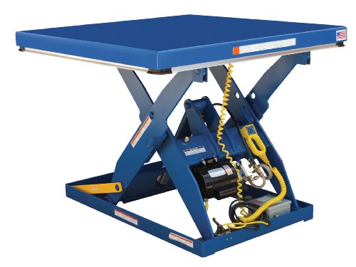 Vestil-EHLT2448-2-43FC-Electric-Hydraulic-Scissor-Lift-Table-with-Foot-Control