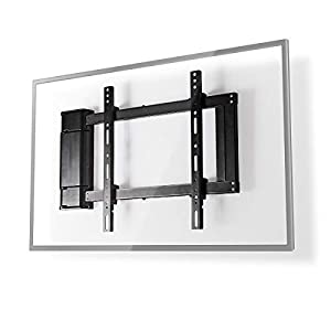 NEDIS Motorised TV Wall Mount Universal TV Desk Mount with 90-Degree Rotation for 32-60 inch TV & PC Flat Screen Max 40…