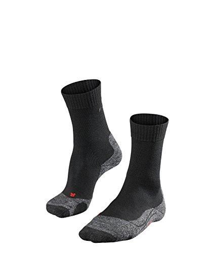 Falke Men's TK2 Trekking Sock, Black-mix, 42-43