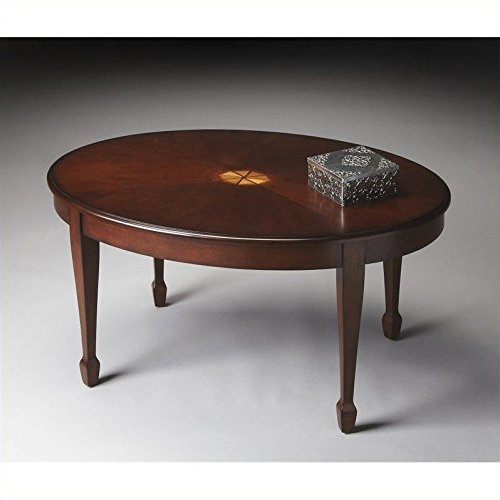 Coffee Specialty Butler - Butler Specialty Cocktail Table in Plantation Cherry