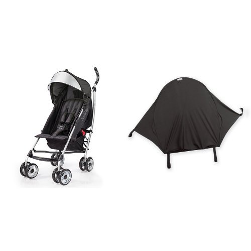 Summer Infant 3Dlite Convenience Stroller, Black & Summer In