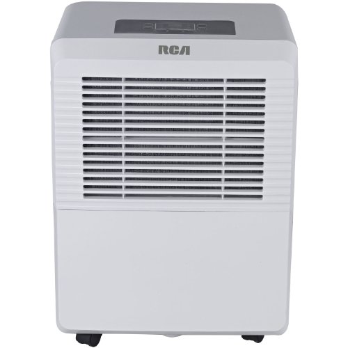 RCA RDH505 Dehumidifier, White