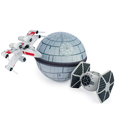 seven20 Scenez Star Wars Death Star Collectible Plush Set, ()