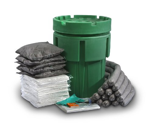 ESP SK-U65 135 Piece Ecofriendly Universal Overpack Absorbent 65 Gallon Spill Kit, 70 Gallon Absorbency, Gray by ESP