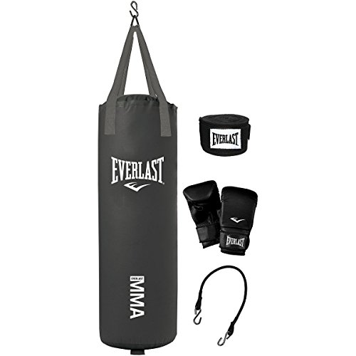 Everlast 70-Pound MMA Heavy-Bag Kit (Best Heavy Bag Stand)