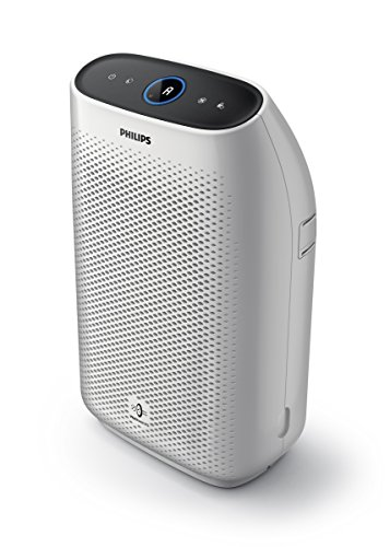 Philips Air Purifier 1000, True HEPA, Reduces Allergens, Pollen, Dust Mites, Mold, Pet Dander, Gases and Odors, for Bedrooms