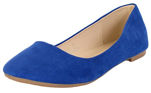 Bella On Flat Slip Round Marie Royal Women's Ballet Toe 12 Stacy Blue Shoes rwgUOqxSr