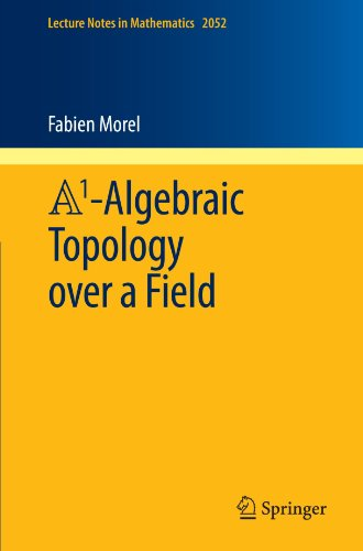 A1-Algebraic Topology over a Field (Lecture Notes in Mathematics, Vol. 2052)