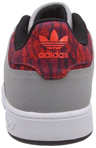 adidas Originals Varial Low - Zapatillas de skateboarding para hombre Gris (mgh solid grey/core black/solar red)