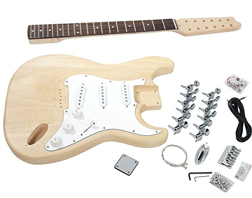 Solo ST Style DIY Guitar Kit, 12 String, Maple Neck