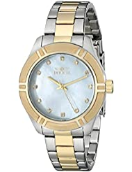 Invicta Womens 18326 Pro Diver Two-Tone Stainless Steel Watch