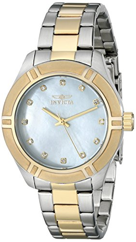 Invicta Women's 18326 Pro Diver Two-Tone Stainless Steel Watch - Invicta Sapphire Wrist Watch