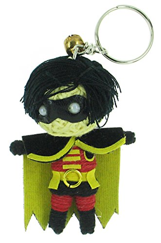For Adults Costume Freeze Mr (Robin Batman Movie Voodoo String Doll Keyring)